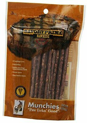 Savory Prime 12-Pack Munchie Strips, 5-Inch, Beef