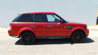 2010 Land Rover Range Rover Sport HSE 2010 Land Rover Range Rover Sport HSE SUV Used 5L V8 32V Automatic 4WD