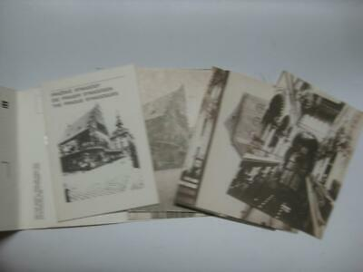 The Prague synagogues 15 POSTCARD COLLECTION & ACCOMPANYING BOOK