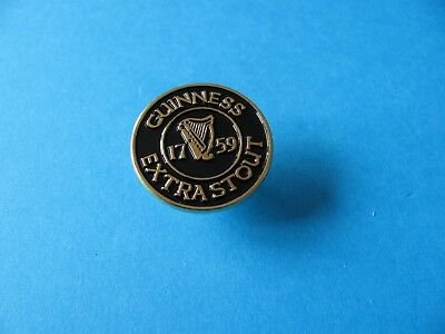 Guinness Gold Harp Lager Beer Pin Badge Unused. VGC