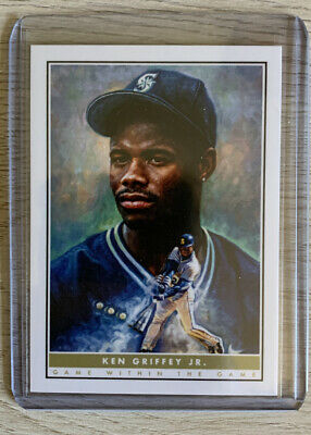 NEW 2020 Topps Ken Griffey Jr. #3 The Game within the Game Paul Jennis Art