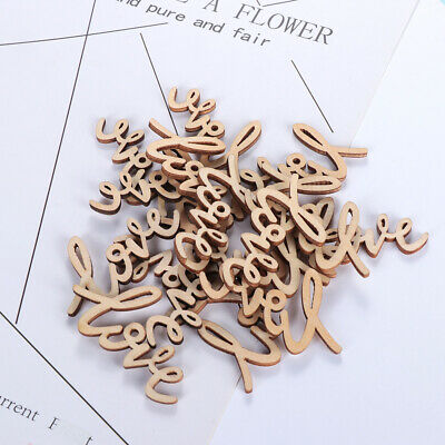 Chic Crafts Accessories Table Scatter Wooden Love Letters Valentine's Day