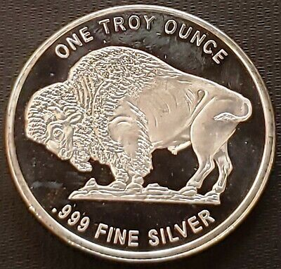 Indian Head Buffalo Proof 1 oz 999 Silver Round