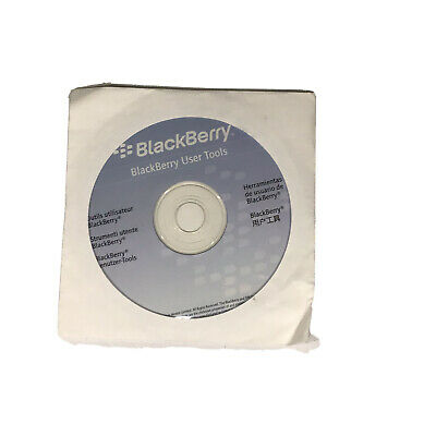 Official BlackBerry User Tools Disc CD-ROM Phone Drivers 2006 Used