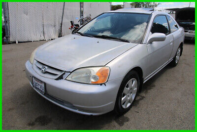 2001 Honda Civic EX 2001 Honda Civic EX Coupe 108K Low Miles Automatic 4 Cylinder NO RESERVE