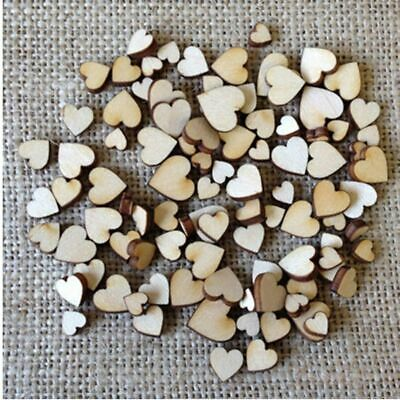 Decoration Wooden Love Heart Table Scatter Crafts Accessories Wedding Decor