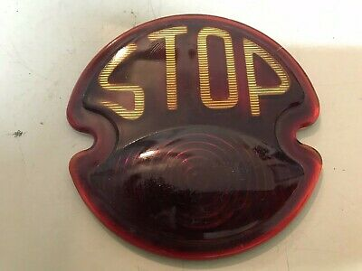 1928-31 Ford Model A Stop Red Lens