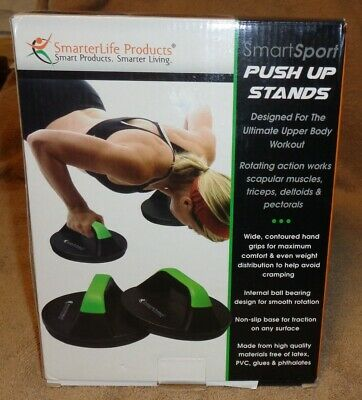 SmartSport Push-Up Stands-New-Designed For The Ultimate Upper Body Workout