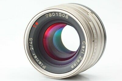 [N Mint] Contax Carl Zeiss Planar T* 45mm f/2 Lens for G1 G2 from Japan 344