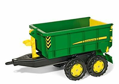 2521073-Rolly Toys 125098- Veicolo a Pedali Container, John Deere