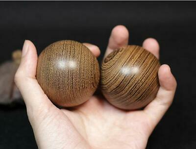 Hand Carving Chicken Wing Handball healthy Hand Massage ball Wooden crafts 4.5cm
