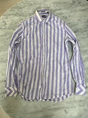Paul Smith Made In Italy Slim Fit 15.5 / 39 Mens Shirt Stripe £190