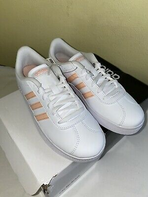Adidas VL Court 2.0 K Kids Shoes Size 3
