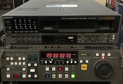 Sony DVW-500P PAL Digital Betacam Editing Player/Recorder