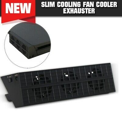 Cooling Fan External Turbo Temperature Control Cooler USB For PS4 Fan