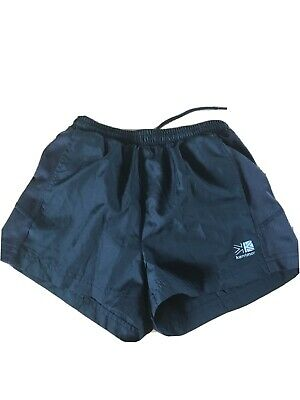 Karrimor Black Running Shorts Age 9-10 Years