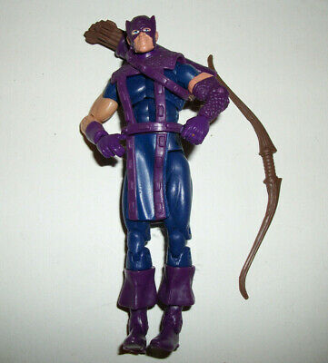 "Marvel Universe Super Hero Comic Book Figure 3-4"" Hawkeye 3.75"" #12a"