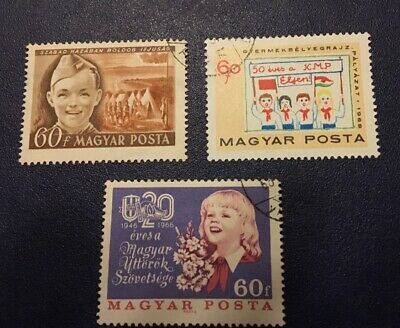 Hungary Scout & Pioneer Stamps. SC#s 899, 1935, &.        MNH. CTO.