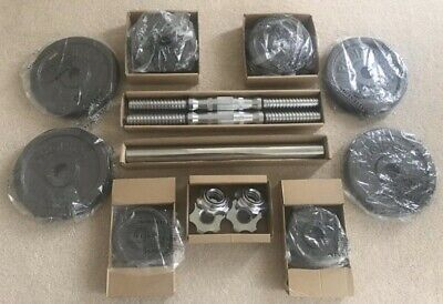 *BRAND NEW* Proiron 20kg Adjustable Dumbbell Weights Set with Barbell Adjustment