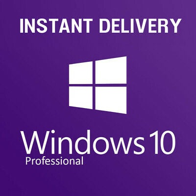Microsoft Windows 10 Plus Pro 32/64 Instant Multilanguage Original License Key