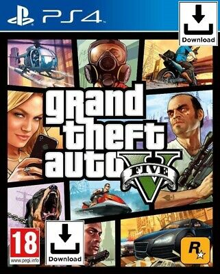 Grand Theft Auto V - GTA 5 - PS4 📥