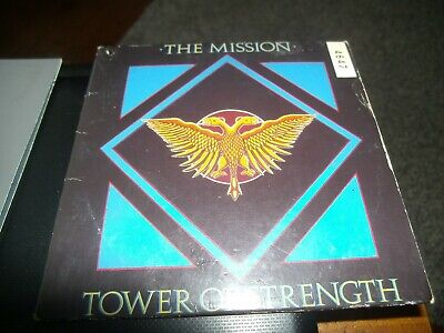 THE MISSION - TOWER OF STRENGTH           4-Track CD Single