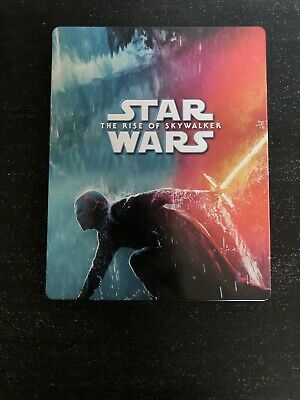 Star Wars L'ascension de Skywalker 4K + Blu-Ray - Steelbook Zavvi