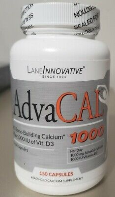 AdvaCAL 1000 LANEINNOVATIVE #1 Bone-Building calcium plus 1000 IU of Vit. D3