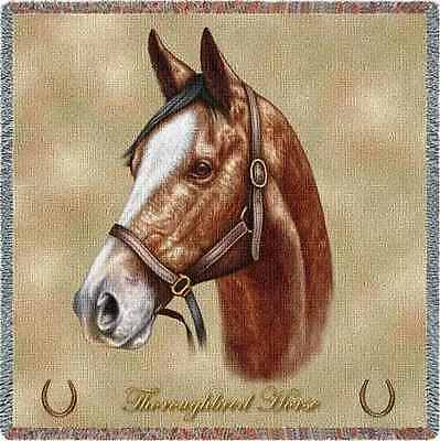 Lap Square Blanket - Thoroughbred by Robert May 1732