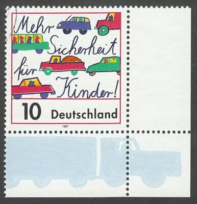 *1p SALE* Germany, 1997 'More Safety for Children'. SG 2752a Fine Used
