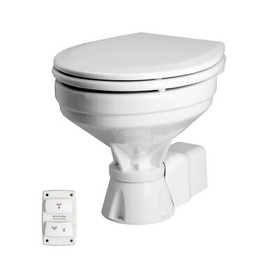 Johnson Pump Aqua T Toilet - Electric - Comfort - 12V w/Solenoid