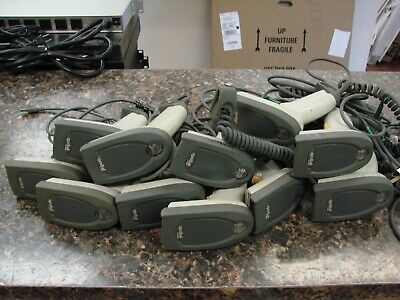Lot of (11) Symbol LS 4000i - LS4008i-i200 Handheld Barcode Scanners