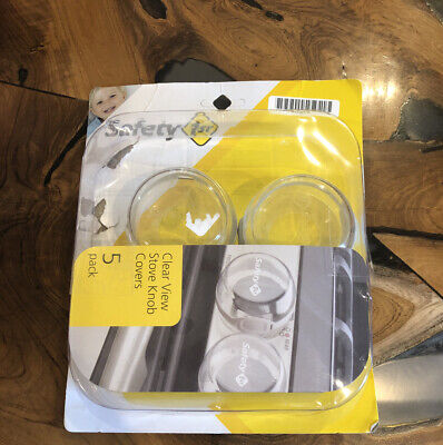 Safety 1st Child Proof Clear View Stove Knob Covers (Set of 5 But Missing One)