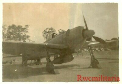 Org. Photo: Captured Japanese A6M Zero Fighter Plane in US Markings (#3)!!!