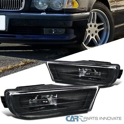Bumper Trim compatible with BMW 7-Series 95-01 Rear Center Strip Chrome Plastic