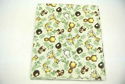 Baby Blanket Forest Fox Deer Raccoons Bears Turtles Can Be Personalized 36x40