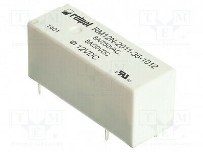 electromagnetic SPST-NO Ucoil 2X RM32N-3021-85-1005 Relay 5VDC 5A//250VAC 5A//28
