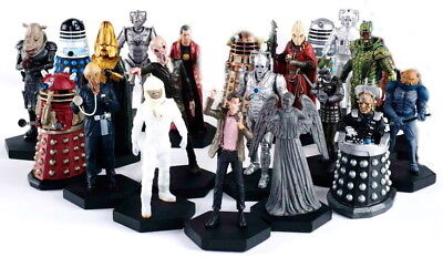 """Doctor Who Eaglemoss Figurines-Imported 5""""- Your Choice of 20- INVENTORY SALE!"""