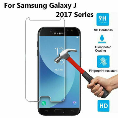 9H Premium Tempered Glass Screen Protector Film For Samsung Galaxy J Series 2017