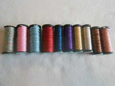 Colours may vary Madeira Silk Threads Spiral Pack Bag of 10 assorted colours