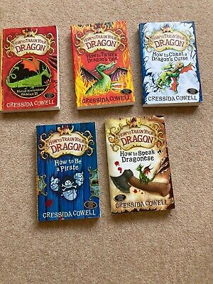 how to train your dragon books 5 book collection