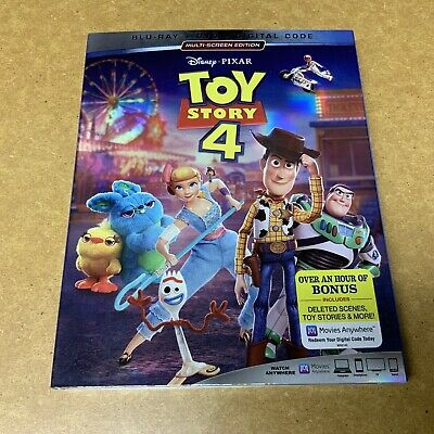 Toy Story 4 DVD With Extra Hour Of Deleted Scenes (New/Sealed)