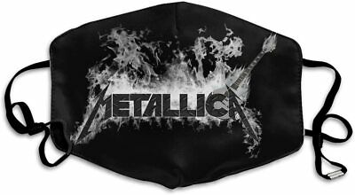 Metallica Unisex  Cotton One Size Face-Mask 3D