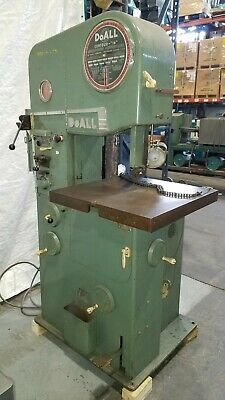 """DoAll 16"""" Metal Band Saw Bandsaw with No.16-2 with Welder, Grinder & Table Feed"""