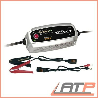 Ctek Mxs 5.0 Car Motorcycle Battery Charger 12V 0,8/5,0 A Recond Function