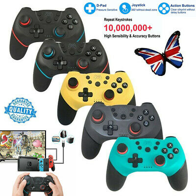 For Nintendo Switch Pro Wireless Bluetooth Gamepad Joystick Game Controller UK