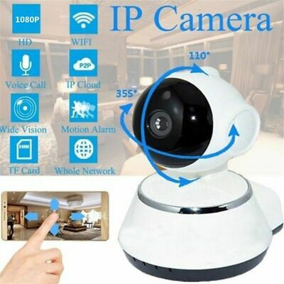 Wireless WiFi 720P HD Pan Baby Pet Monitor Network Security IP Camera IR Webcam