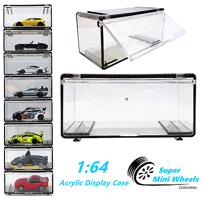 Acrylic Display Case for 1//64 Diecast Holds 6 Cars by Greenlight 55012 Nascar