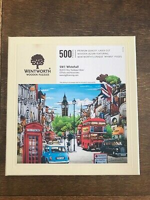 SW1 WHITEHALL  250 PIECES WENTWORTH WOODEN JIGSAW PUZZLE