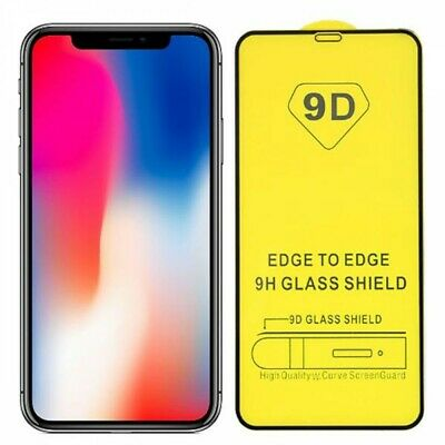 Tempered Glass 9D FULL Screen Protector For iPhone 11,11Pro Max XR X XS Max SE 2